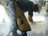 Loren Warner, Santa Clarita, CA Farrier - hotfitting horseshoe